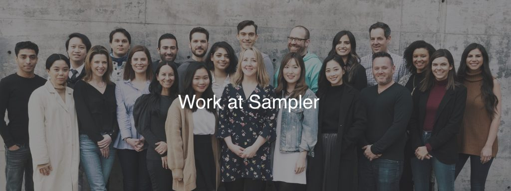 Sampler builds transparency at work by including employees in the hiring process (Source: Sampler)