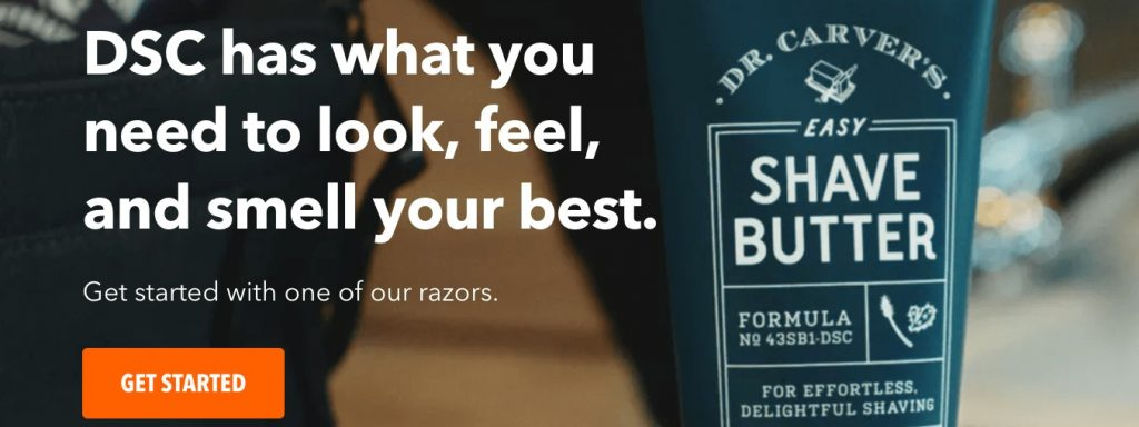 brand example: dollar shave club