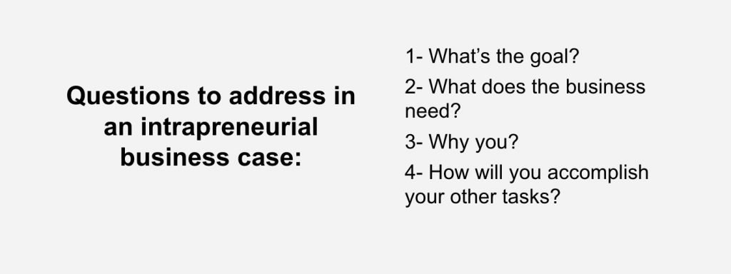 Make sure your business case answers all possible questions