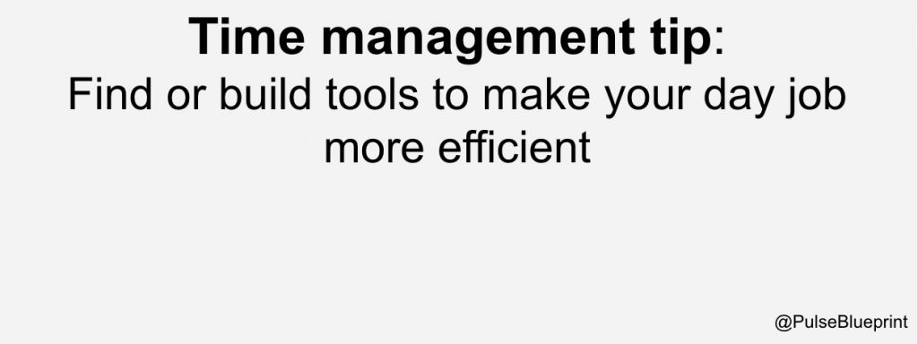 Other key project management skills involve time management