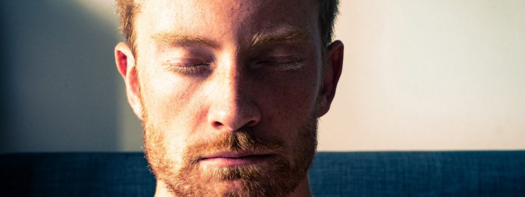 Meditation can help you re-center if something is throwing you off