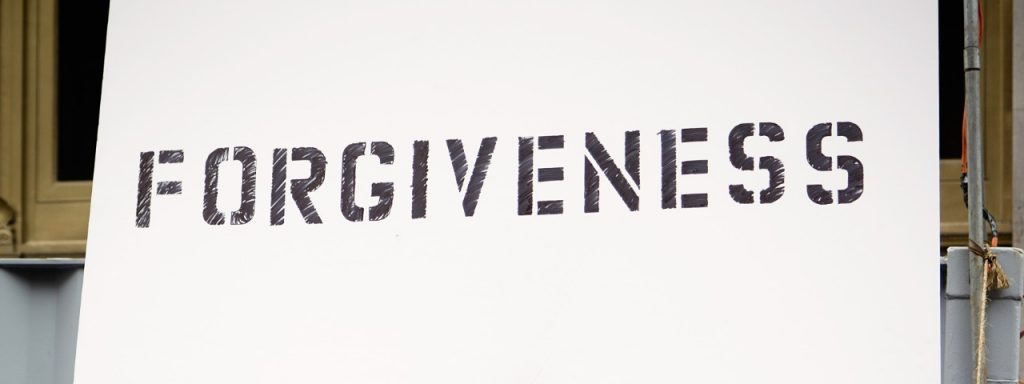 Forgiveness is a sign of strength
