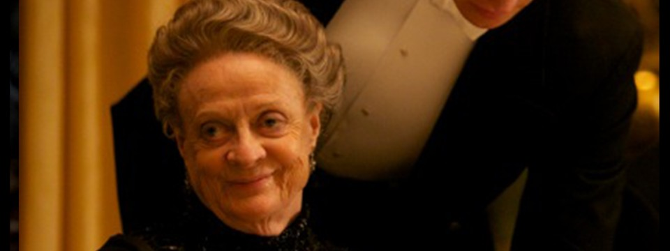 The Dowager Countess is many things, but not sarcastic