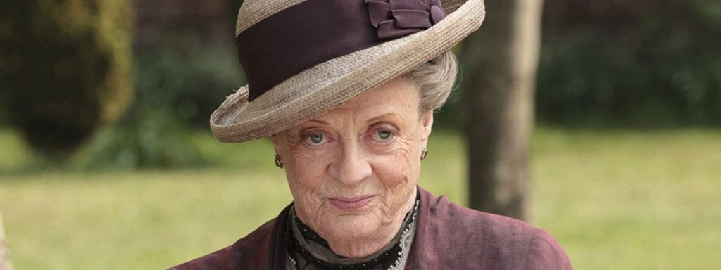 The Dowager Countess never reveals all her secrets