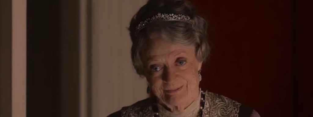 The Dowager Countess may not be a futurist, but she isn't afraid of progress