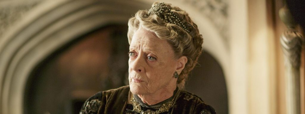 Your life is too valuable for petty fights, says the Dowager Countess