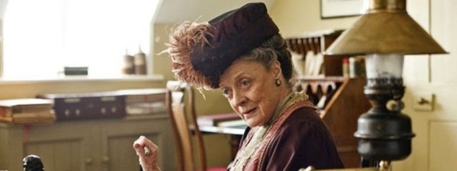 The Dowager Countess would never be rude - there are better ways to make a point