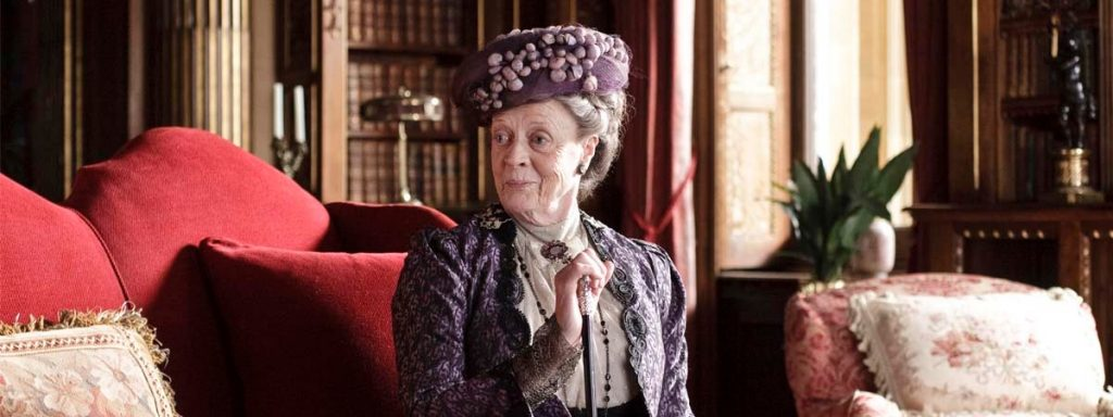 The Dowager Countess may not be sentimental, but she still cares
