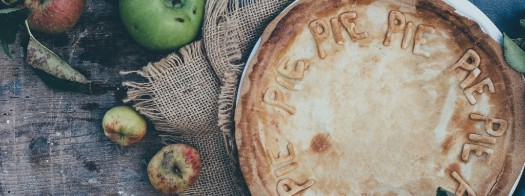 a pie to tamper with