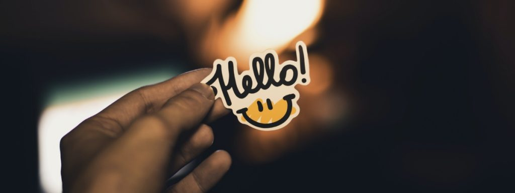[hello sticker]